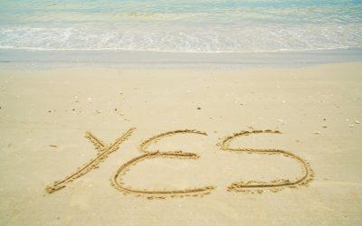 """Il est temps de te dire """"oui"""" et d'aller rencontrer ta vérité"""